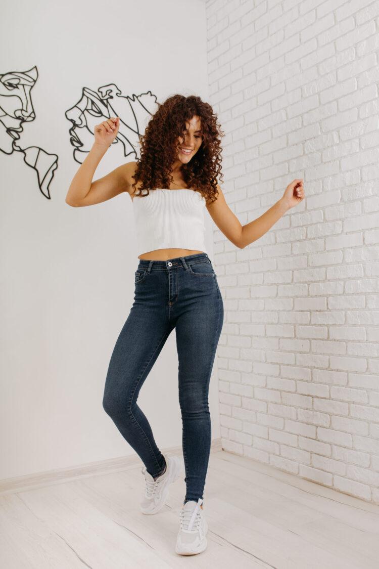Женские джинсы скинни Woox 0771
