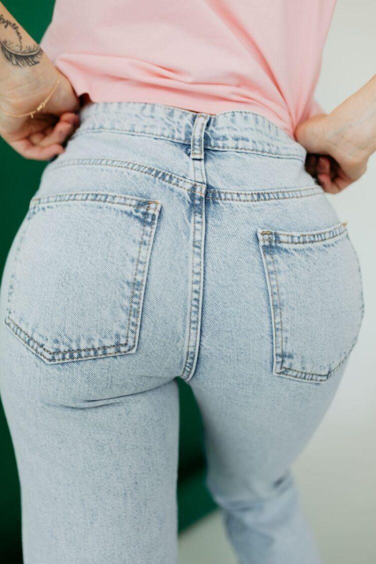 Женские джинсы МОМ Woox 1042
