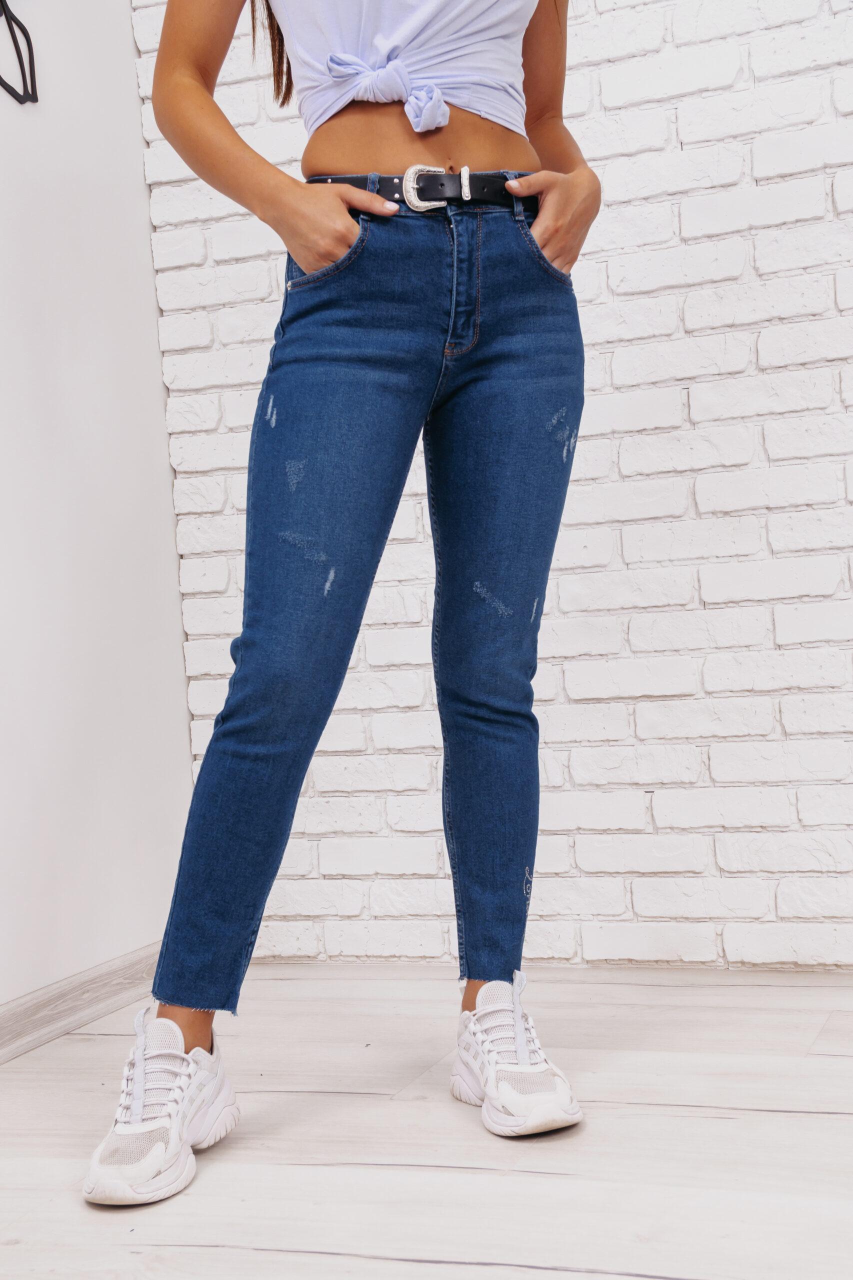 Женские джинсы скинни Woox 1011