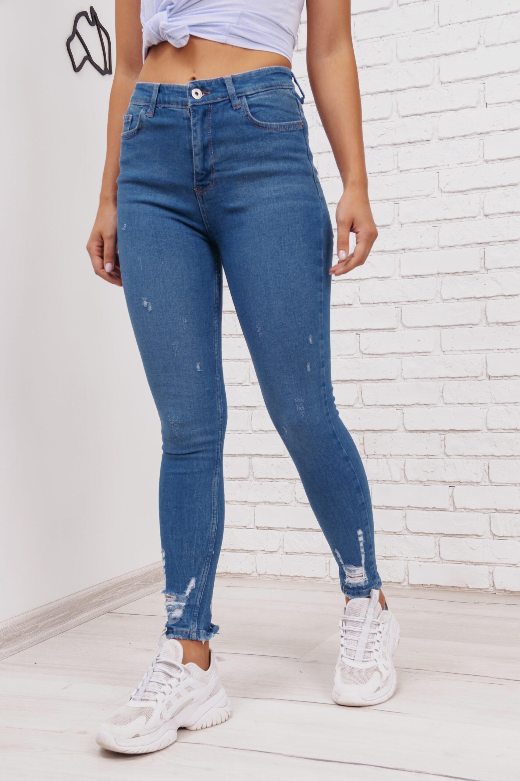 Женские джинсы скинни Woox 0763