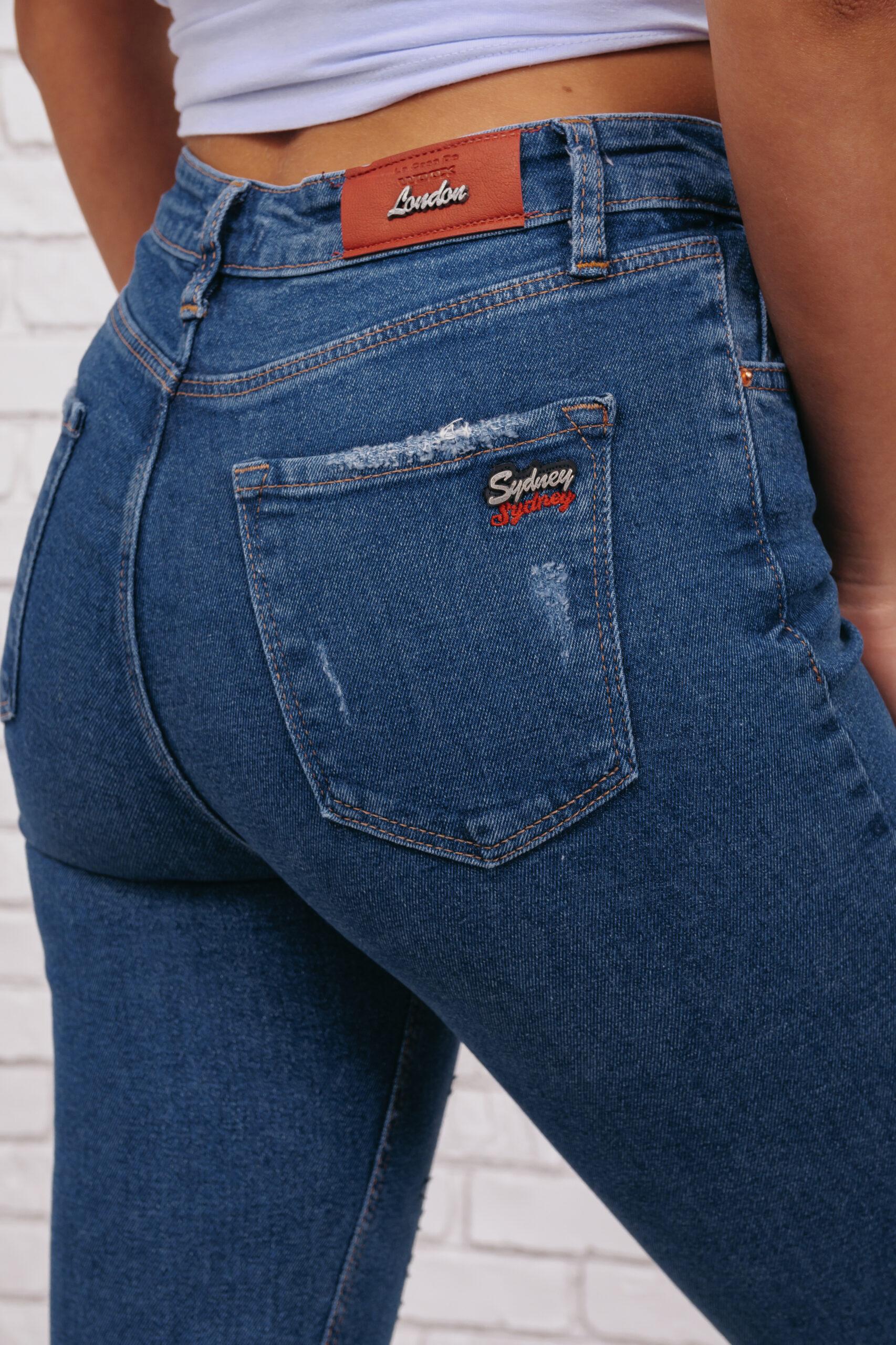 Женские джинсы скинни Woox 0760