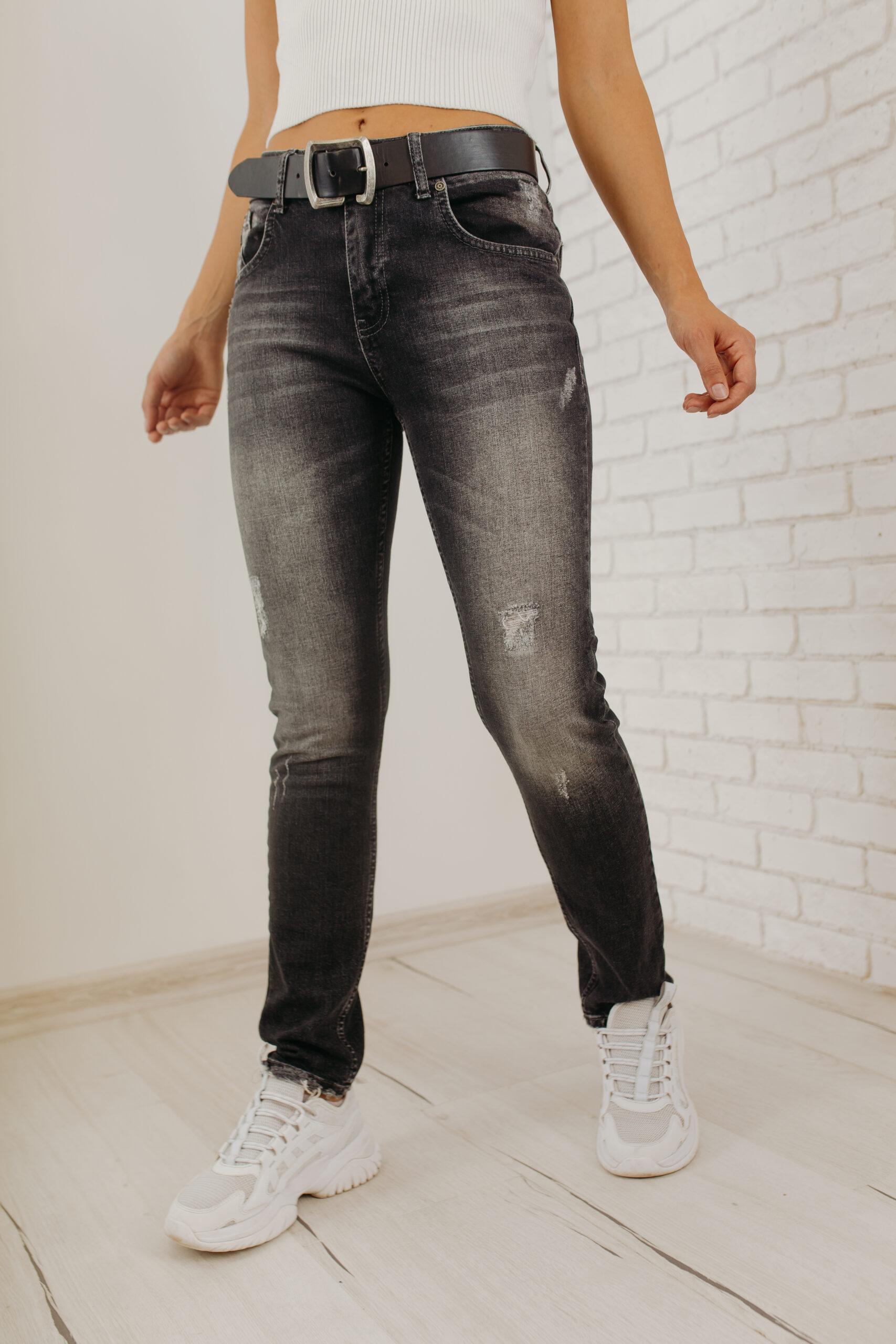 Женские джинсы бойфренды Red Blue RB-1003