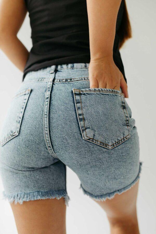 Женские джинсовые шорты 608/4514