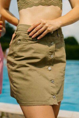 Джинсовая юбка ZEO BASIC 3100