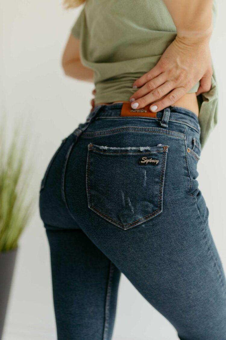 Женские джинсы скинни Woox 0758