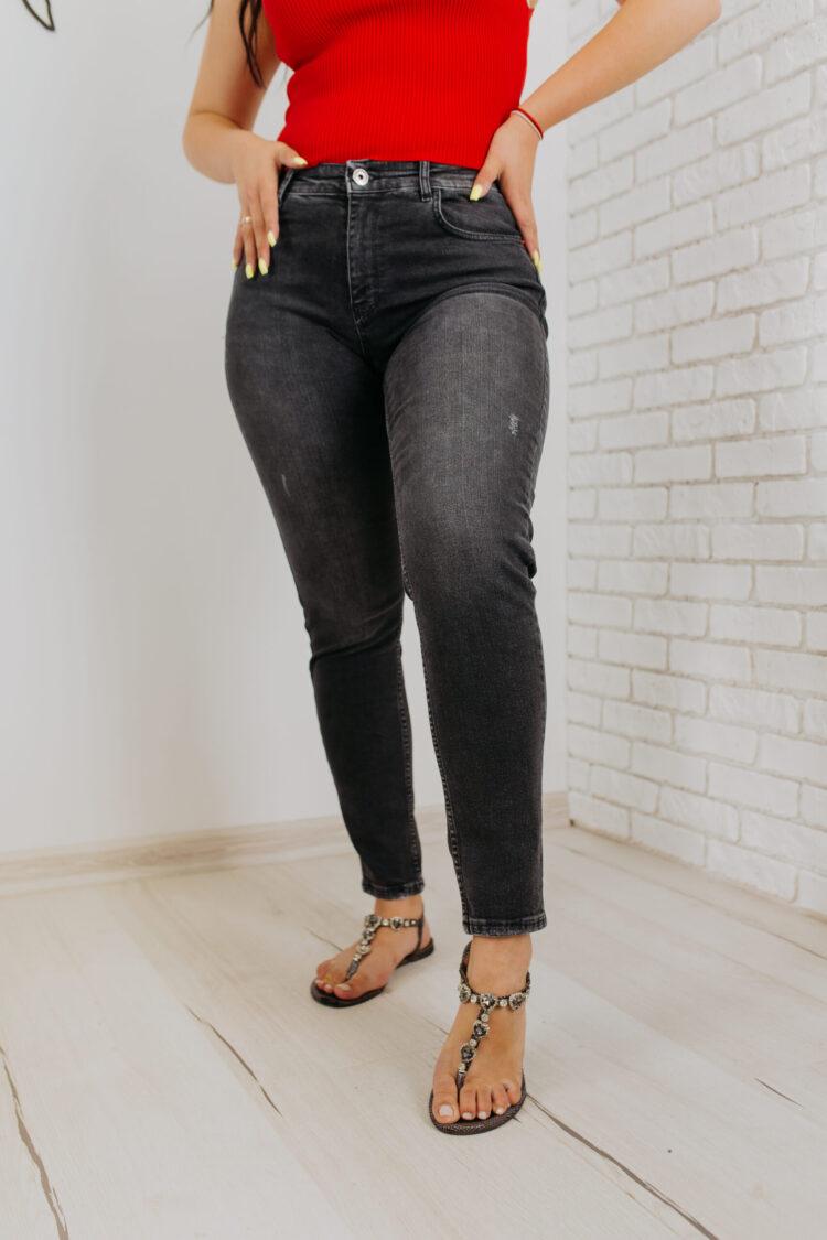 Женские джинсы 1975-1 МОМ Woox (1)