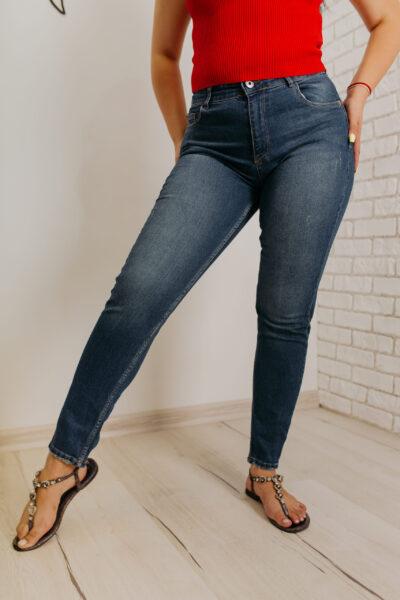 Женские джинсы МОМ Woox 1975 blue brown