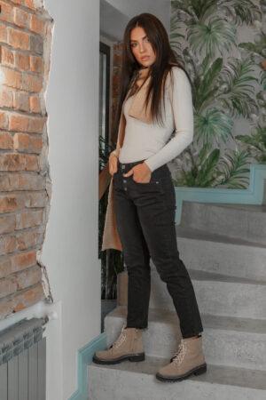 Женские джинсы темного цвета ESQUA 4012