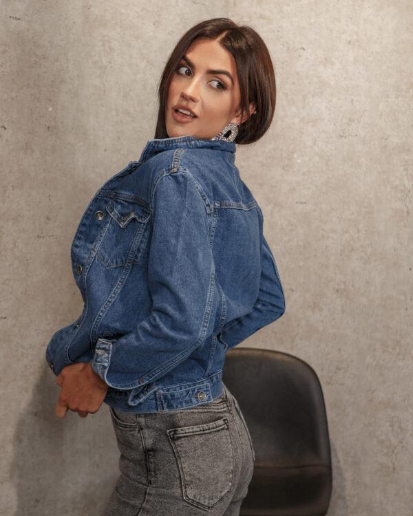 Женская джинсовка синего цвета Newourcer 534