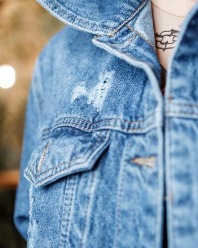 Джинсовая куртка Newourcer 1064