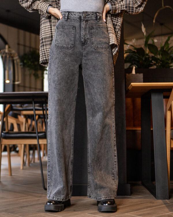 Женские джинсы-палаццо 1798W20-4