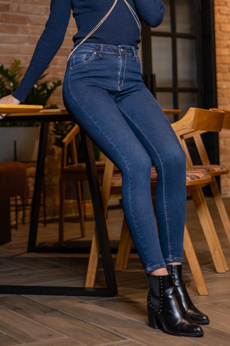 Утепленные джинсы американки 2032TEP
