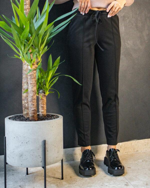 Черные женские брюки 20/222