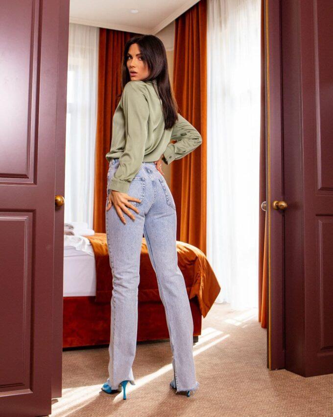 Женские джинсы Newourcer 1121